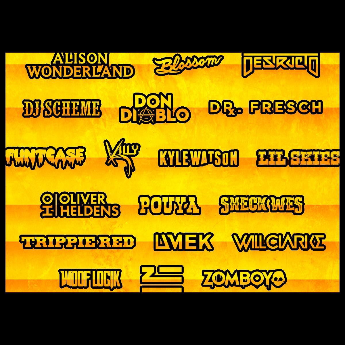 Goldrush Music Festival Lineup
